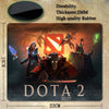 Dota 2 Design Natural Silicon Mouse Pad - GamerGift