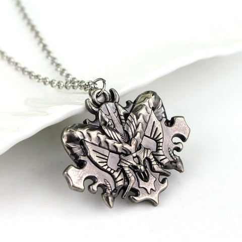 Diablo 3 Necklace Liberty Diablo Sign Alloy Mens Necklace Pendant - GamerGift