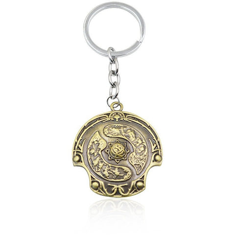 DOTA 2 Immortal Champion Shield Key Chain - GamerGift