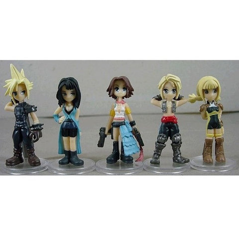 Final Fantasy Cloud Strife/YUNA/Rinoa Heartilly 4cm-6cm PVC Figure Toys Set - loveit-shop