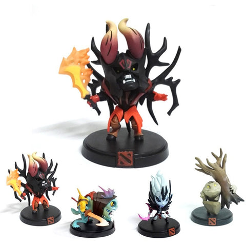 1pcs Hot Gift Collector's Edition Dota 2 Game Figure SLARK VS TINY Doom Boxed Exquisite PVC Action Figures Collection Dota2 Toys - GamerGift