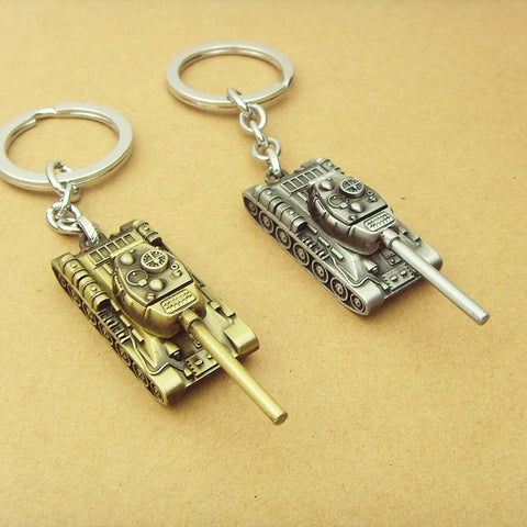 World of Tanks KeyChain 5 cm Alloy Metal Tank Model
