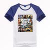 GRAND THEFT AUTO V GTA T-shirt  Breathable quick-drying top Y15 Fashion Brand t shirt men new high quality - loveit-shop