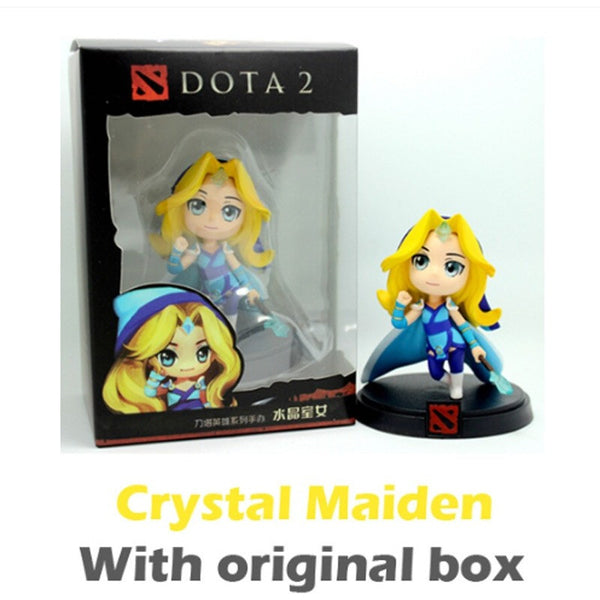 Dota 2 Figure Kunkka Lina Pudge Tidehunter Queen of Pain Crystal Maiden Boxed