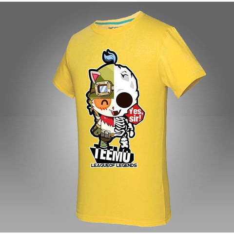 3D T-Shirt Teemo Shirts Fashion 2016 Q Version - GamerGift