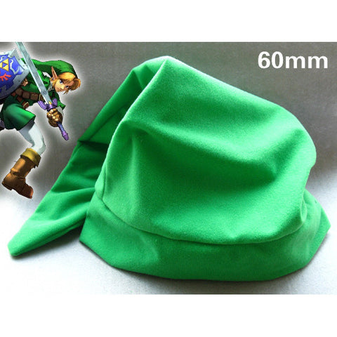 The Legend of Zelda Link Cosplay Hat Minish Cap Plush Beanies Green