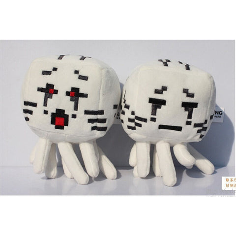 Minecraft Plush Toys Red a black eyes Ghast 18cm