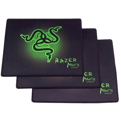 Professional 1 Pcs Razer Gaming Mouse Pad 250*210*2mm Locking Edge