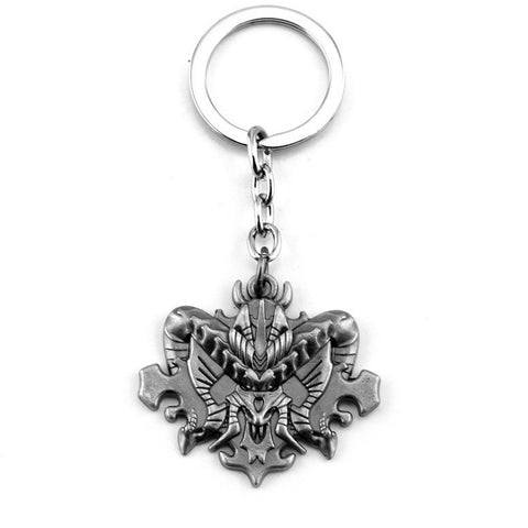 Diablo III 3 Logo Metal Keychain Pendant Key Chains - GamerGift