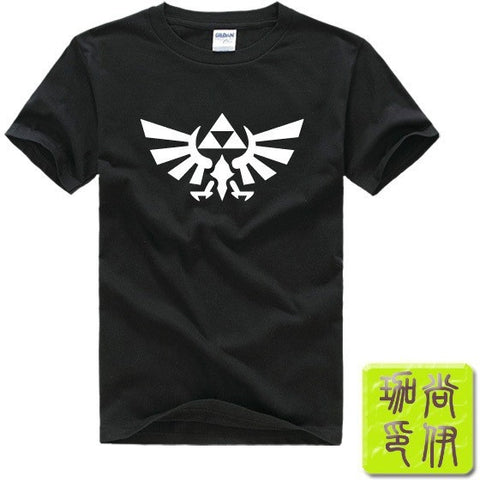 The Legend of ZELDA triforce logo video game Nintendo gamer Men's T-Shirt
