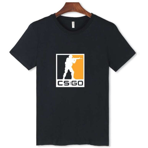 CSGO Trendy XXXL Black Short Sleeve T Shirt - GamerGift