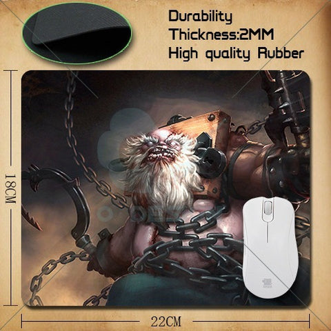 DOTA 2 mousepad all hero mouse pad - GamerGift
