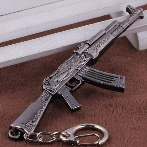 Counter Strike AK47 AWP Eagle Weapons Metal Keychains - GamerGift