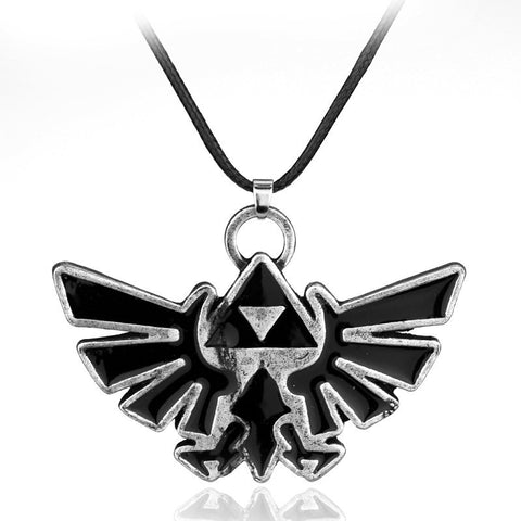 The Legend of Zelda Badge Logo Necklace