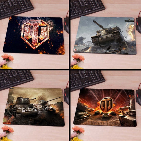 World of tanks mouse pad Fire logo Slim Mouse Pad Pads Speed Up Mice Pad