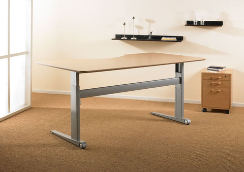 Electric desk with tabletop