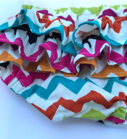 Chevron bloomer