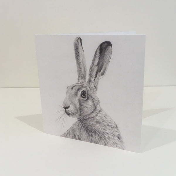 All Ears Hare Greeting Card