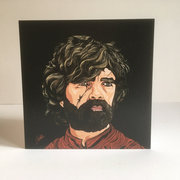 Game of Thrones Tyrion Lannister Greetings card