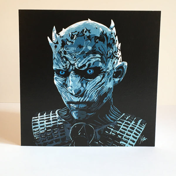 The Night King Greetings card