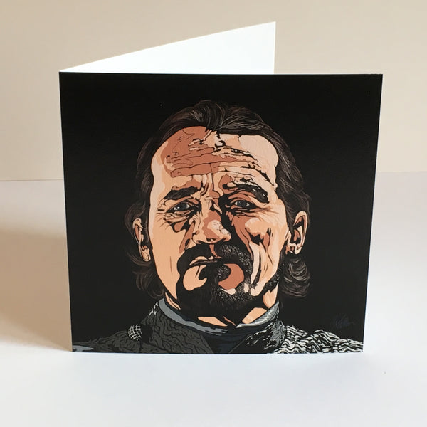 Game of Thrones Ser Bronn II Greetings card
