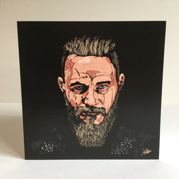 Vikings Ragnar Lothbrok Greetings card