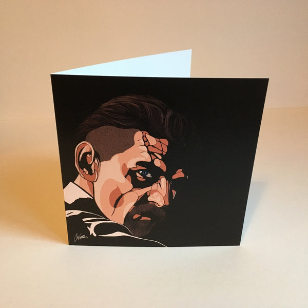 Arthur Shelby Greetings card Art Deco style