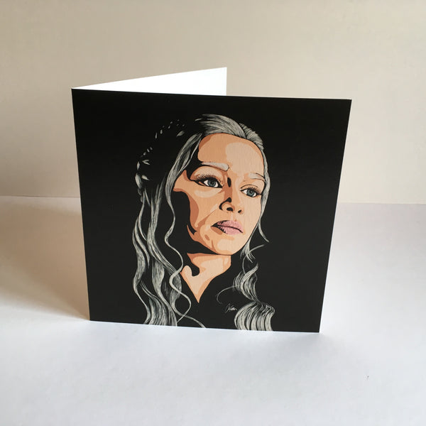 Game of Thrones Daenerys Targaryen Greetings card