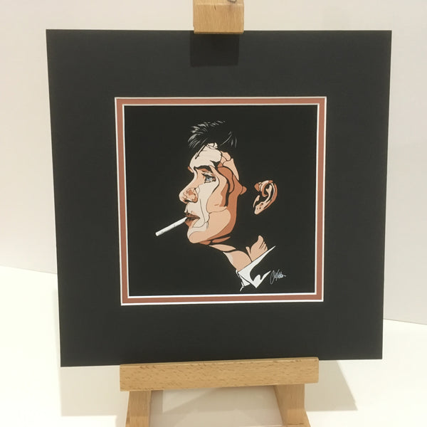 Tommy Shelby Art Deco style mini print