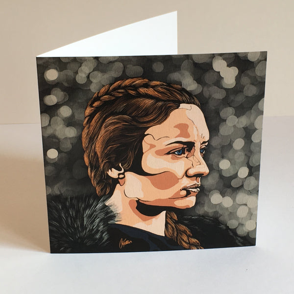 Game of Thrones Sansa Stark Greetings card