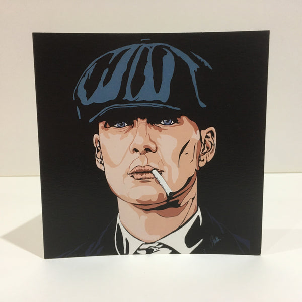 Tommy Shelby III Greetings Card Art Deco style