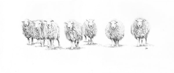 The Magnificent Seven -Limited Edition Giclee Print