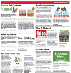 All-Natural Chews & Treats Featured at Crufts