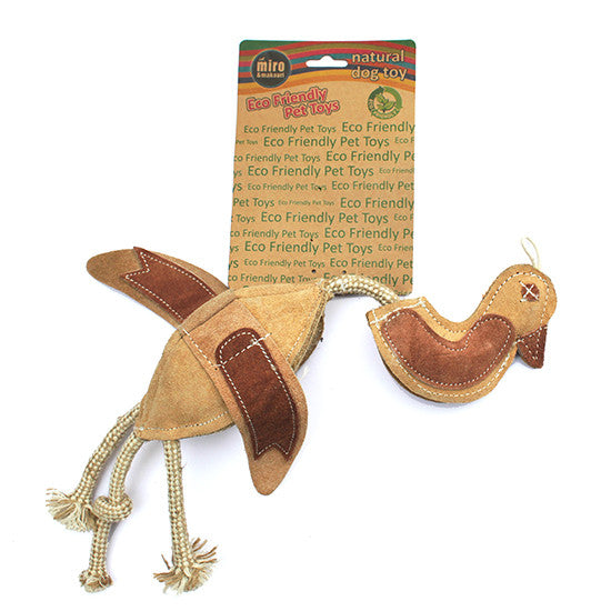 Dead Duck Prey Toy.  Natural Eco-Friendly Dog Toys