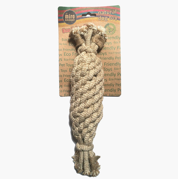Jute Rope Crinkle Bottle Toy - Miro&Makauri
