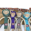 Milo the Monkey - Natural Eco-Friendly Dog Toy (Now in Stock) - Miro&Makauri
