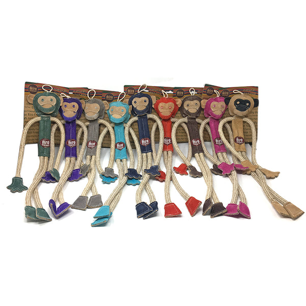Milo the Monkey - Natural Eco-Friendly Dog Toy (Now in Stock)