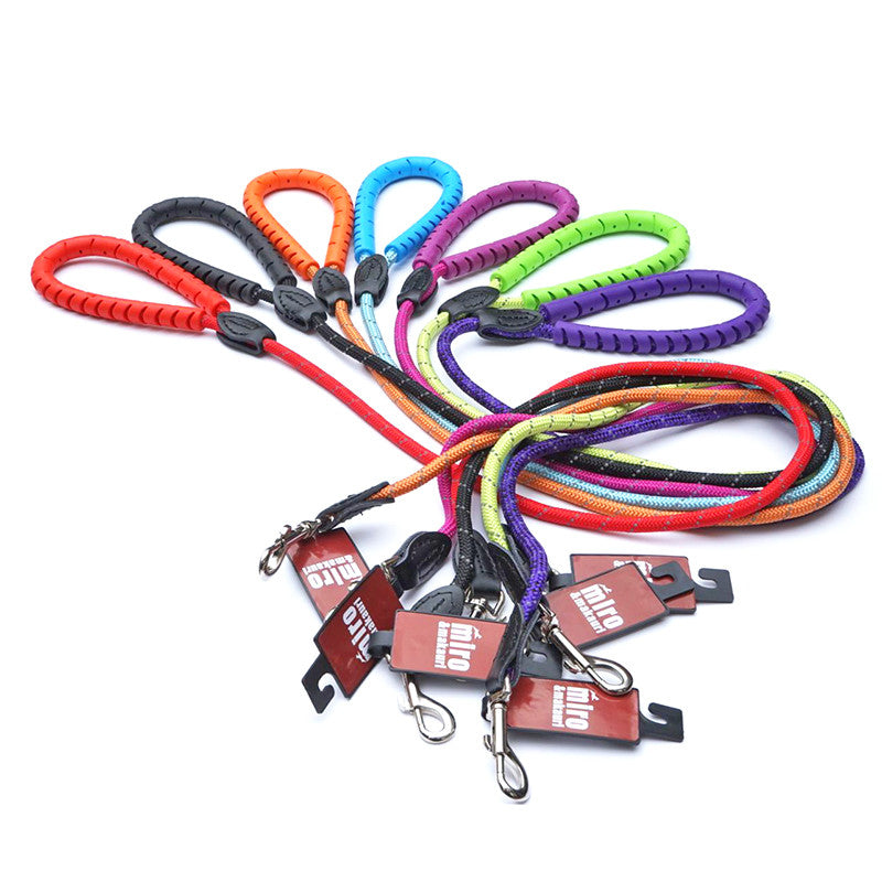 Rubber Handled Rope Leads with Trigger Hook