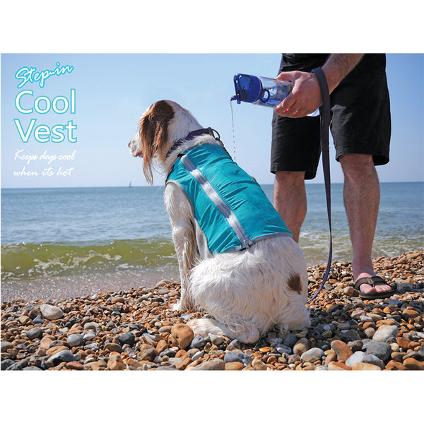Step In Cool Vest - Keeps dogs cool when its hot. - Miro&Makauri