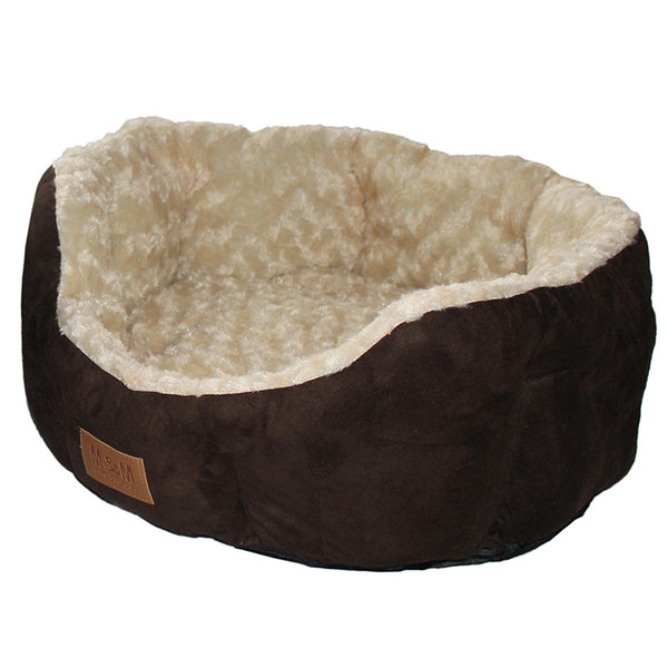 Perfect Suede Cat Beds - Brown/Cream - Miro&Makauri
