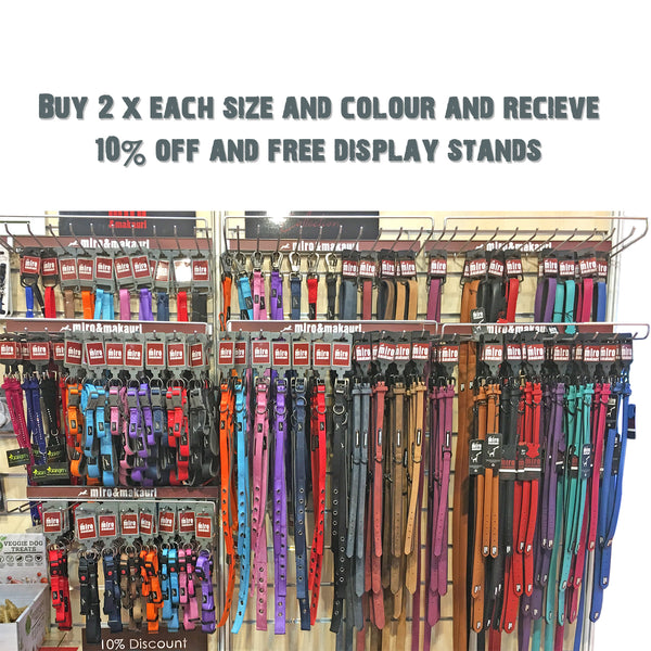 Retail Displays - Special Offers - Milford Leather Collars & Leads