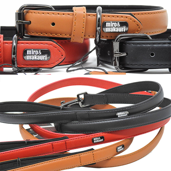 Milford Leather Lead & Collar Set. (15% off)