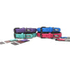 Milford Leather Collars - Pink, Purple, Blue, Turquoise, Yellow