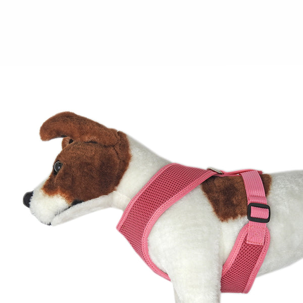Air Mesh Padded Harness-Pink - Miro&Makauri