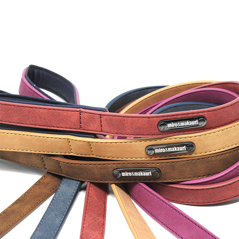 """Tasman"" Faux Leather Leads"