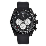 Silicone Band Chrono Men's Watch (édition limitée)