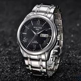 Classic Sapphire Crystal Waterproof Watch