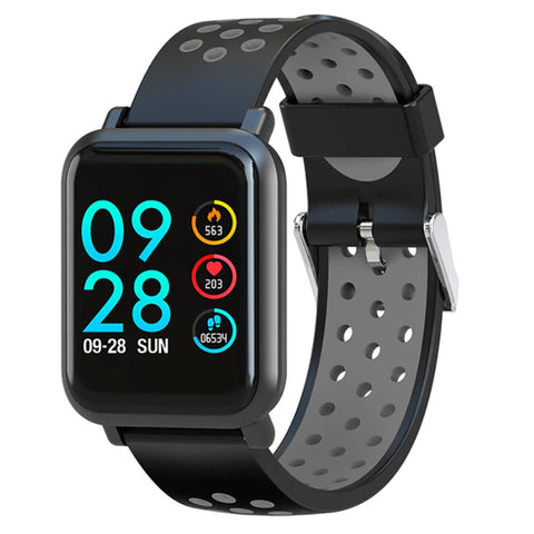 Square All-In-1 HR Smartwatch