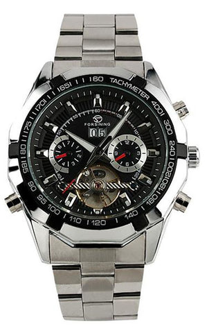Automatic Tourbillon Skeleton Men's Watch