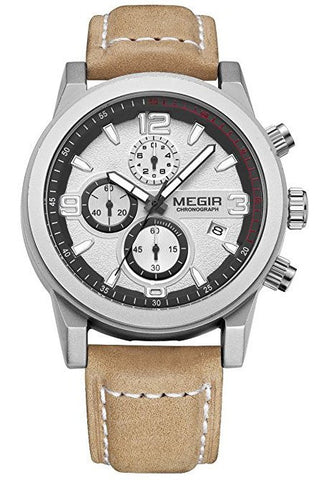 Classic Design Masculine Chrono Watch